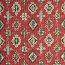 Crimson Ethnic Decorator Fabric by Clarke & Clarke