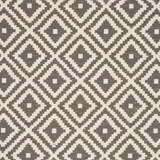 Charcoal Diamond Decorator Fabric by Clarke & Clarke