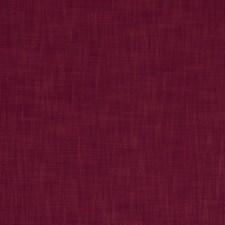 Claret Solids Decorator Fabric by Clarke & Clarke