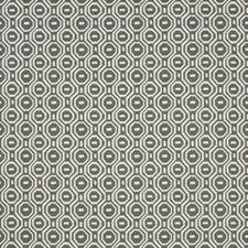 Charcoal Weave Decorator Fabric by Clarke & Clarke
