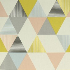 Sorbet Decorator Fabric by Clarke & Clarke