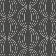 Charcoal Dots Decorator Fabric by Clarke & Clarke