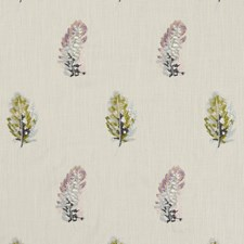 Multi/Gilver Weave Decorator Fabric by Clarke & Clarke