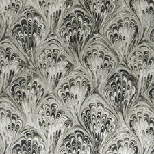 Charcoal/Natural Weave Decorator Fabric by Clarke & Clarke