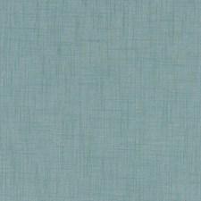 Aqua Solid Decorator Fabric by Clarke & Clarke