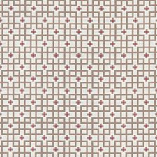 Raspberry Weave Decorator Fabric by Clarke & Clarke