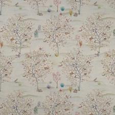Autumn/Cream Decorator Fabric by Clarke & Clarke