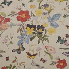 Linen Decorator Fabric by Clarke & Clarke