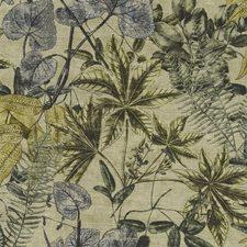 Mineral/Citron Decorator Fabric by Clarke & Clarke
