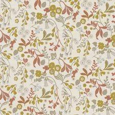 Ochre Decorator Fabric by Clarke & Clarke