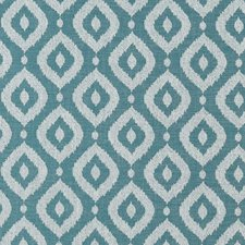Teal Decorator Fabric by Clarke & Clarke
