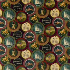 Plum Velvet Decorator Fabric by Mulberry Home