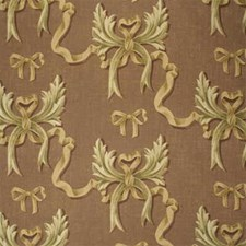 Misty Mauve Print Decorator Fabric by Mulberry Home