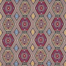 Plum Print Decorator Fabric by Mulberry Home