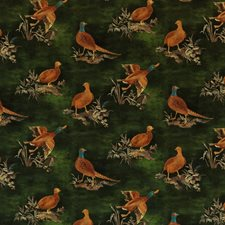 Emerald Animal Decorator Fabric by Mulberry Home