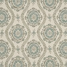 Aqua Weave Decorator Fabric by Mulberry Home