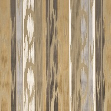 Caramel/Silver Decorator Fabric by Mulberry Home