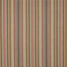 Teal/Russet Weave Decorator Fabric by Mulberry Home