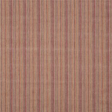 Spice/Plum Stripes Decorator Fabric by Mulberry Home