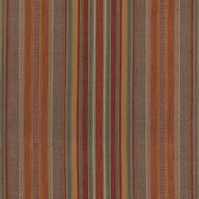 Red/Plum Stripes Decorator Fabric by Mulberry Home
