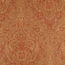 Golden Rust Decorator Fabric by RM Coco