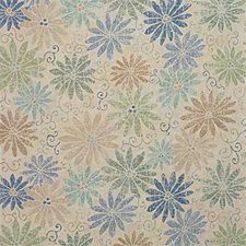 Lagoon Print Decorator Fabric by Groundworks