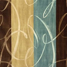 Mocha Print Decorator Fabric by Groundworks