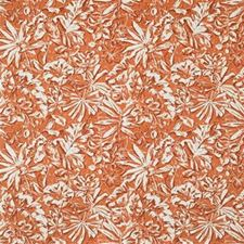Orange Outdoor Decorator Fabric by Groundworks
