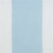 Aqua/Cream Stripes Decorator Fabric by Groundworks