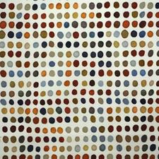 Sky/Tang Dots Decorator Fabric by Groundworks
