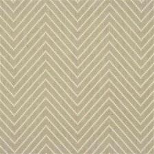 Beige Herringbone Decorator Fabric by Groundworks