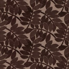 Cocoa Botanical Decorator Fabric by Groundworks