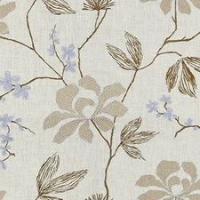 Latte Botanical Decorator Fabric by Groundworks