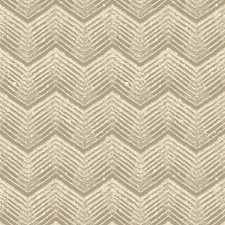 Linen Geometric Decorator Fabric by Groundworks