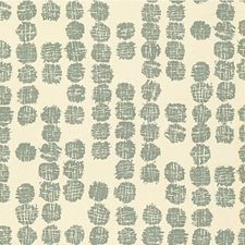 Lake/Ivory Outdoor Decorator Fabric by Groundworks