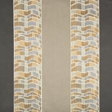 Smoke/Brass Modern Decorator Fabric by Groundworks