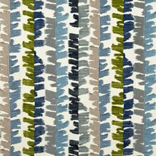Blue/Green Modern Decorator Fabric by Groundworks
