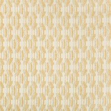 Gold Modern Decorator Fabric by Groundworks