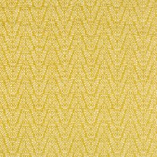 Chartreuse Herringbone Decorator Fabric by Groundworks