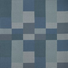 Admiral Check Decorator Fabric by Groundworks