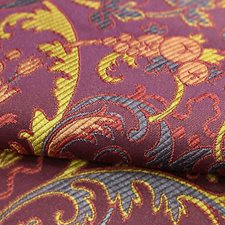 Pourpre Decorator Fabric by Scalamandre