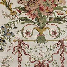 Multi On Ivory Decorator Fabric by Scalamandre