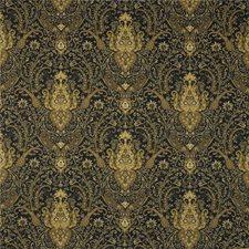 Black/Brown/Beige Paisley Decorator Fabric by Kravet