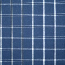 Marine Check Decorator Fabric by Pindler