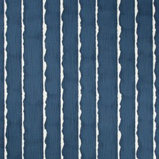 Indigo/White Contemporary Decorator Fabric by Kravet