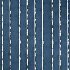 Indigo/White Modern Decorator Fabric by Kravet