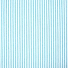 Aquamarine Stripe Decorator Fabric by Pindler