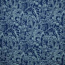 Azure Crewel Decorator Fabric by Pindler
