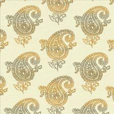 Smoky Amber Decorator Fabric by Kasmir