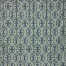 Jade/Teal Print Decorator Fabric by Groundworks